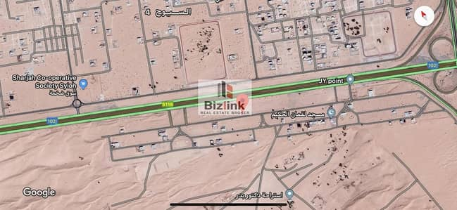 Plot for Sale in Al Tai, Sharjah - Residential Plot For Sale