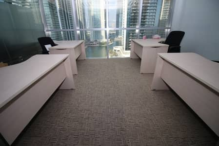 Office for Sale in Jumeirah Lake Towers (JLT), Dubai - Tiffany Tower Furnished Fitted Lake View