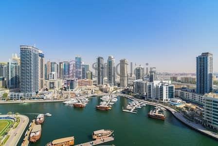 فلیٹ 3 غرفة نوم للايجار في دبي مارينا، دبي - Lovely 3 Beds + Maids | Duplex | Marina View