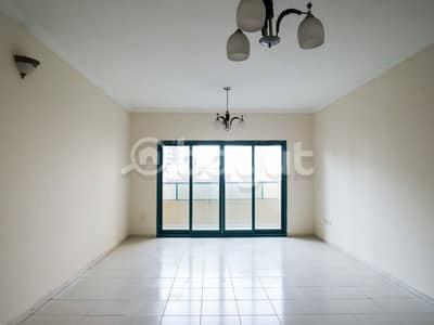 فلیٹ 3 غرف نوم للايجار في الممزر، الشارقة - يوجد لدينا ثلاث غرف وصاله مساحه ممتازه + غرفه خادمه - بدون عموله - صيانه مجانا - اسم البرج ممزر 1 الشارقه