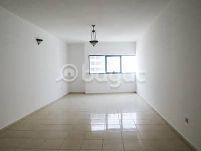 شقة 3 غرفة نوم للايجار في الممزر، الشارقة - عرض ممتاز ثلاث غرف وصاله مساحه كبيره .  برج الممزر 2 ، شارع التعاون الشارقة. برون عموله . صيانة مجانا .