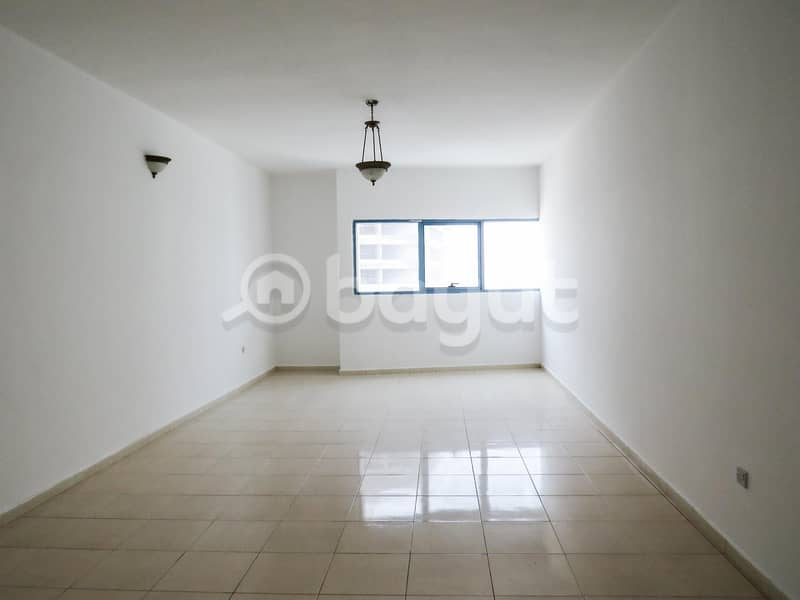 Special Offer 1 month free with 3bhk flat with Maid room Mamzar 2 Building , Al tawun road Sharjah. Spacious Flat with  No Commission & Free Maintenance.