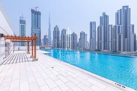 فلیٹ 3 غرف نوم للايجار في الخليج التجاري، دبي - Beautiful 3BR Apt with Burj Khalifa View