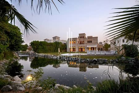 6 Bedroom Villa for Sale in Al Barari, Dubai - Huge Extended Plot |Type C |On The Water