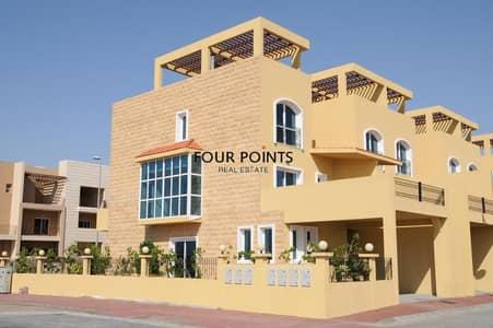 تاون هاوس 4 غرفة نوم للايجار في قرية جميرا الدائرية، دبي - Indigo Ville 8 4BR+M Townhouse in Jumeirah Village Circle Available For Rent