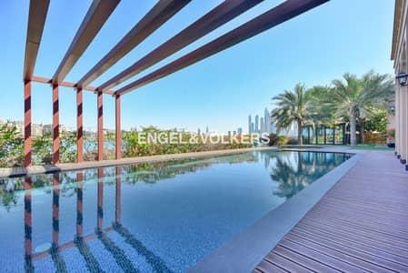 فیلا 5 غرفة نوم للبيع في نخلة جميرا، دبي - Exclusive| Upgraded| Large Plot and BUA