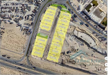 Mixed Use Land for Sale in International City, Dubai - 0%Commission|4year P.Plan|Plot IC Phase-1