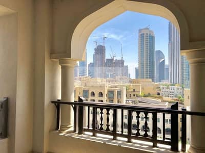 2 Bedroom Flat for Sale in Old Town, Dubai - Open View Spacious Beautiful 2B Al Tajer Residence