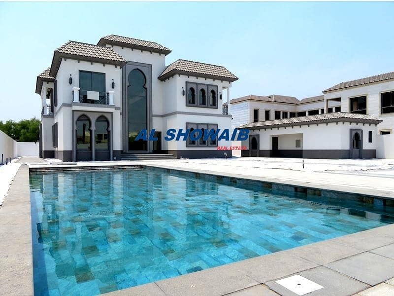 Stunning 7000 Sq-ft  5 Br Villa with Pool in Al Barsha 3