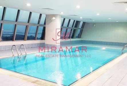 شقة 4 غرفة نوم للايجار في الخالدية، أبوظبي - شقة في سلامة ريزيدنس كورنيش الخالدية الخالدية 4 غرف 130000 درهم - 4291816