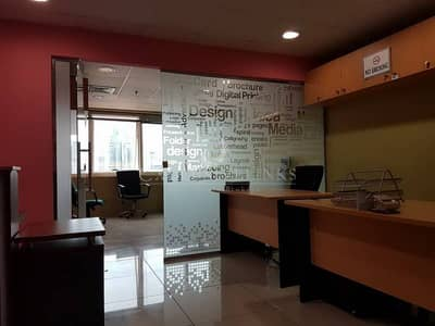 Partitioned Office for Sale Near Metro