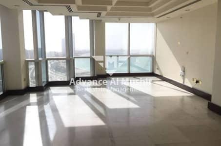 STUNNNING 4BHK+4BATH+Complete Facilities with Corniche Beach Sea View in Airport Road near Corniche!