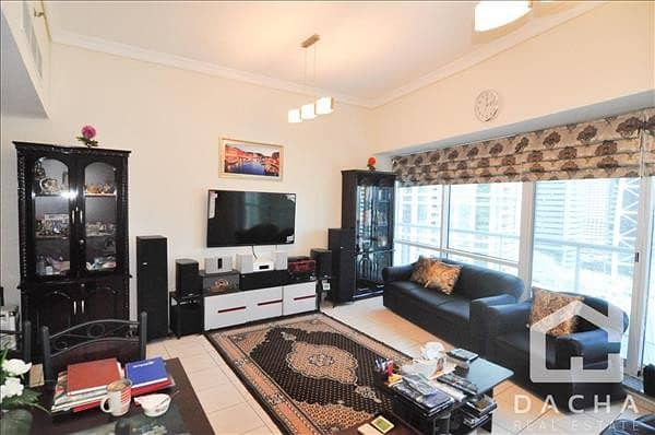 2 Beds with Store / Large balcony