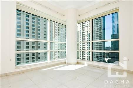 فلیٹ 2 غرفة نوم للايجار في دبي مارينا، دبي - Duplex / low floor/Side Marina View/ chiller free