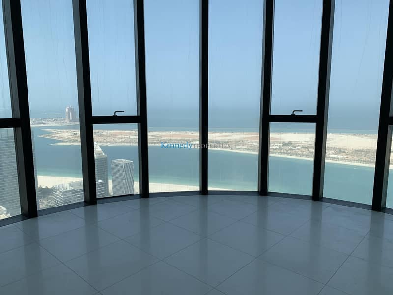 3 bedroom plus 1 with amazing corniche sea views