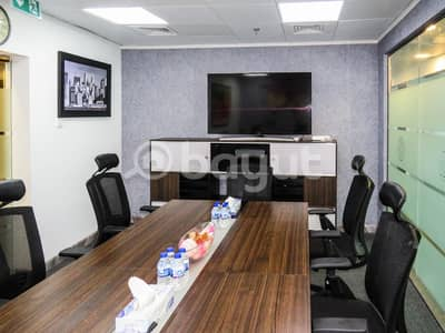Fully furnished office space with natural lights- No Commission!
