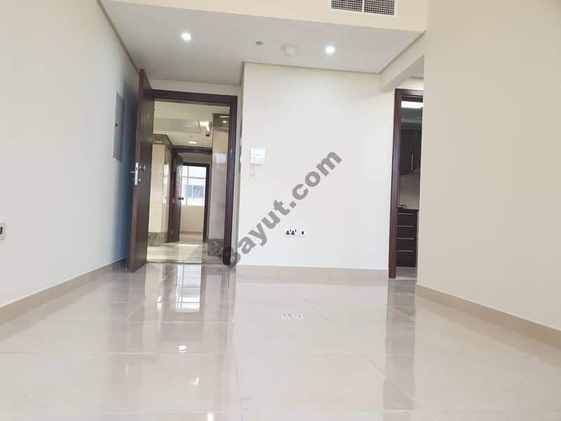 Elegant Quality 01 Bedroom Hall Apartment with Covered Parking is Available in High Rising Building.