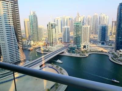 2 Bedroom Flat for Rent in Dubai Marina, Dubai - Great Layout with Marina Views * High Floor