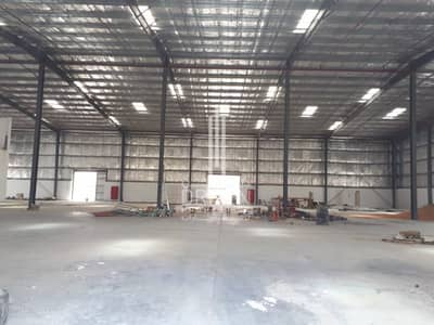 Warehouse for Rent in Dubai Industrial Park, Dubai - Affordable Priced Semi-fitted Warehouse