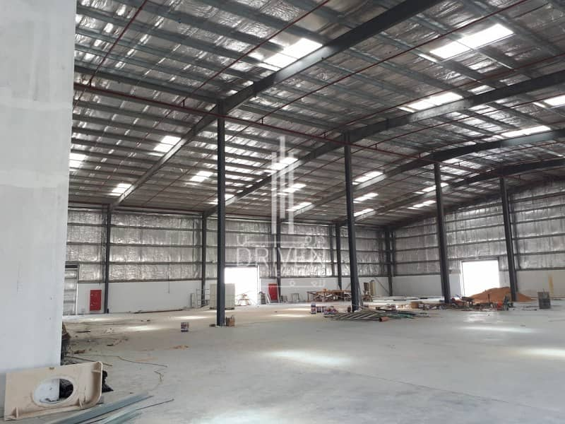 2 Affordable Priced Semi-fitted Warehouse