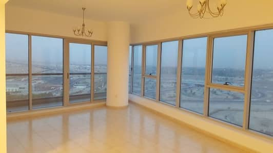 2 Bedroom Flat for Rent in Dubailand, Dubai - Corner, Closed kitchen 2BHK for rent in Sky Courts Tower C 48K