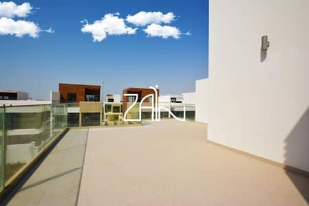 5 Bedroom Townhouse for Sale in Al Salam Street, Abu Dhabi - Street View! Single Row 5 BR TH with Garden