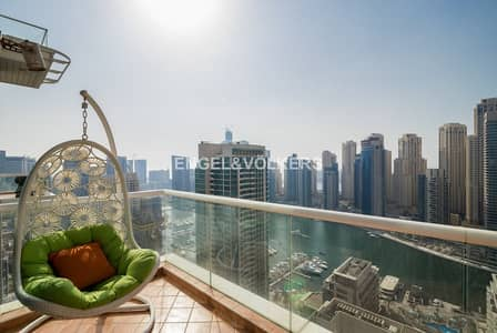 4 Bedroom Apartment for Sale in Dubai Marina, Dubai - Duplex | Marina View | High Floor | Spacious