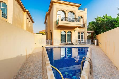 4 Bedroom Villa for Rent in The Villa, Dubai - Bright and Modern 4 BR with Pool and Study Room