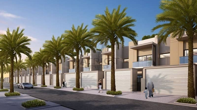 2 Villa for sale  in dubai Meydan MBR city 8 years payment