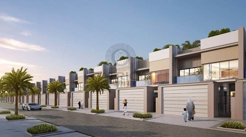 2 3B Villa for sale in Dubai Meydan MBR city 8 years payment