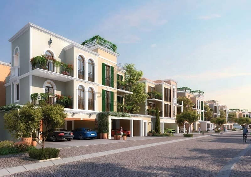 Book With Only 10% 1st Ever Freehold Townhouse in Jumeirah 1