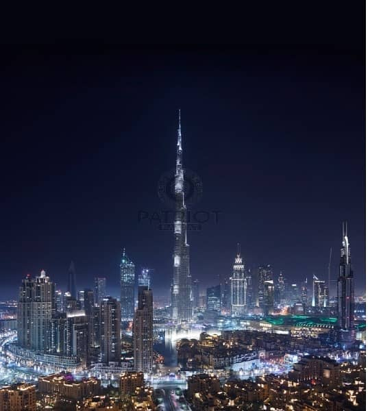 Burj Khalifa View|Flexible Payment plan|5% Booking