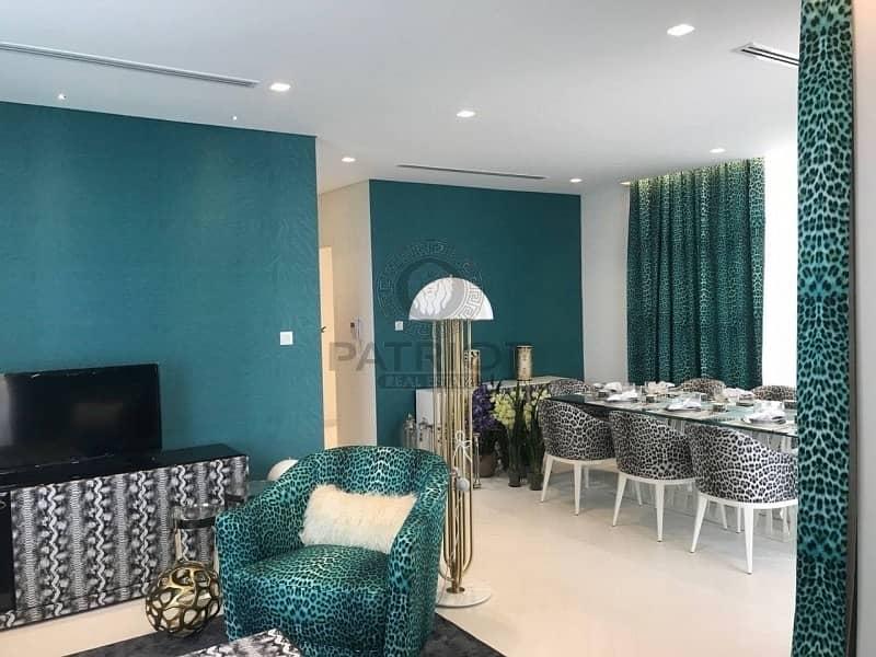 Branded 3BR Cavalli Villa by Damac   7% Booking