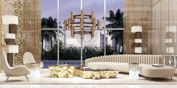 شقة 1 غرفة نوم للبيع في دبي هاربور، دبي - BRANDED 1BR APARTMENT|ELIE SAAB|SEA VIEW|50% DLD|5% BOOKING