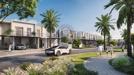 تاون هاوس 3 غرفة نوم للبيع في قرية جميرا الدائرية، دبي - Three Bedroom Plus Maid | Corner Unit | Payment plan