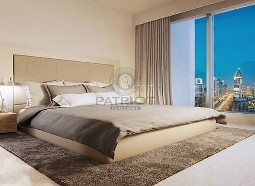 13 Panoramic Foutains and burj 05 series 3br  payment plan