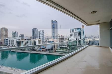 فلیٹ 2 غرفة نوم للايجار في دبي مارينا، دبي - Full Marina View