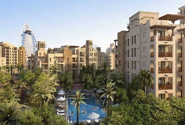 2 Burj Al Arab Amazing view Madinat Jumeirah Living
