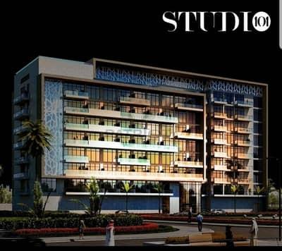 شقة 1 غرفة نوم للبيع في مدينة دبي للاستديوهات، دبي - Invt - Opportunity own 1BHK with 1% Monthly Installment