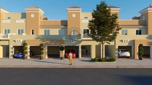 4 Bedroom Townhouse for Sale in Dubai Sports City, Dubai - Rent to own villa Direct from Developer 9 years payment