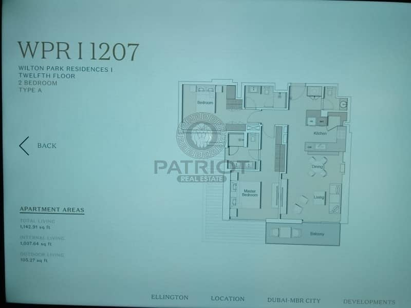 2 PRE LAUNCH OFFER 1 BHK IN MEYDAN-PAYMENT PLAN 50/50