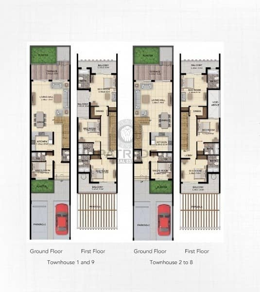 11 High End quality || Ready 3 Bedroom Townhouses |