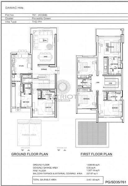 17 Luxury Serviced 4 BR villa interior by Paramount hotel