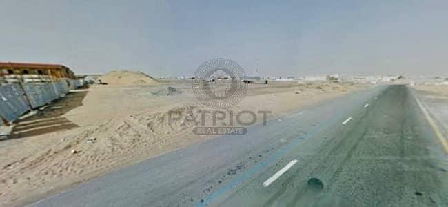 ارض تجارية  للبيع في السجع، الشارقة - Labor Camp & Warehouse Land for Sale in Saja - Sharjah !!
