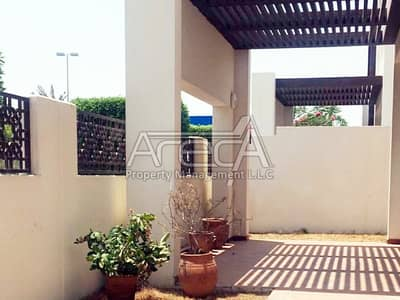 4 Bedroom Villa for Rent in Al Bateen, Abu Dhabi - Contemporary Chic With Park side Poise | Offering 4 Bed