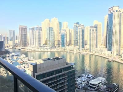 1 Bedroom Apartment for Rent in Dubai Marina, Dubai - Beautiful Marina View|Bright and Spacious|Well Maintained