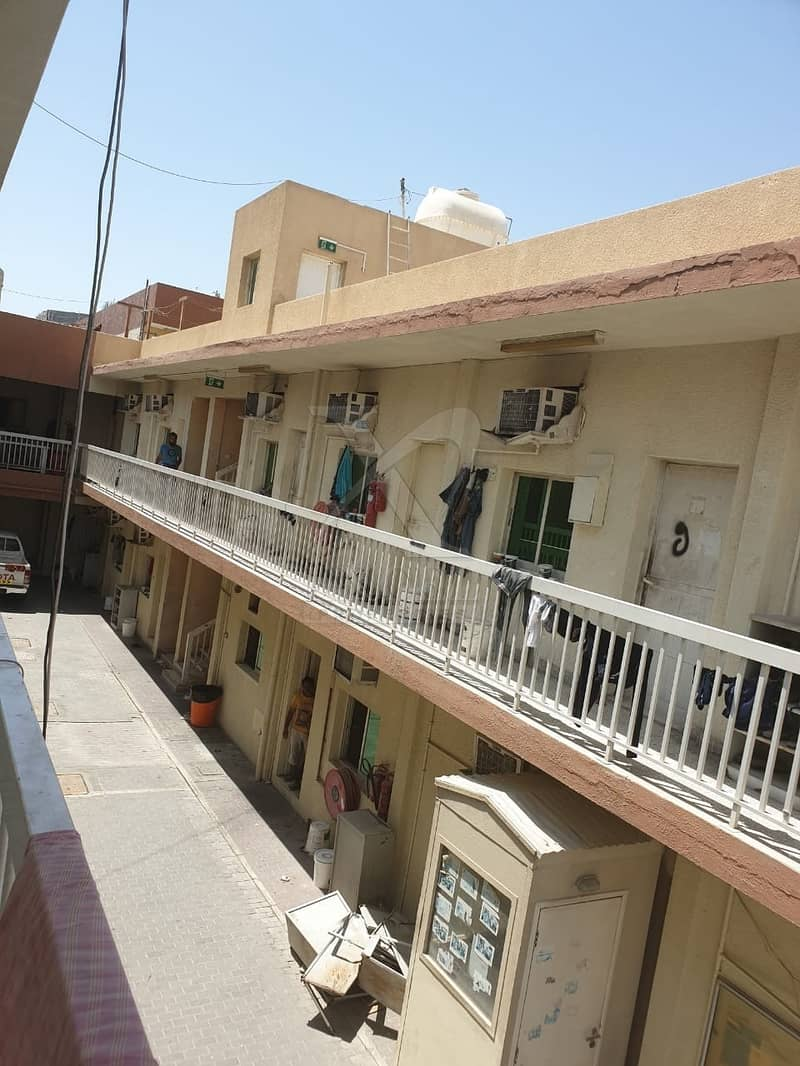 2 For Sale 45 Rooms/Labor camp/good location in Al Quoz Indl Area 4.