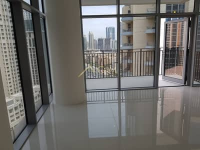 1 Bedroom Flat for Rent in Downtown Dubai, Dubai - Brand New 1BR plus study |  Burj Khalifa View| BLVD Crescent 2