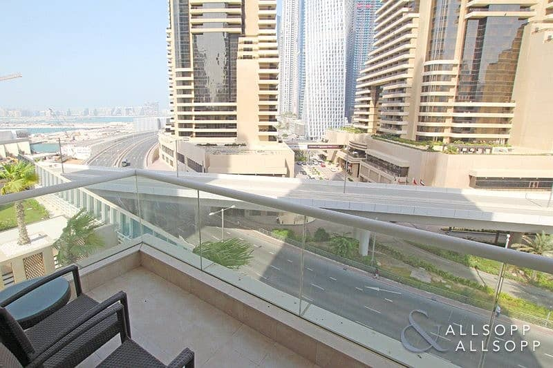 Large 1 Bed   Palm View   Available Now