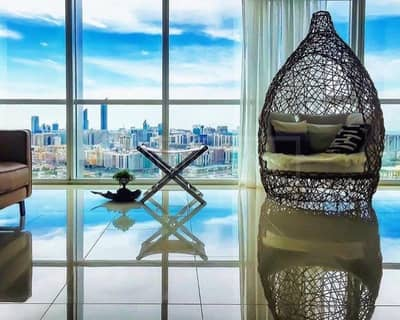 4 Bedroom Apartment for Rent in Al Reem Island, Abu Dhabi - Ready to move in 4 Bed Penthouse Sea View B2 Tower